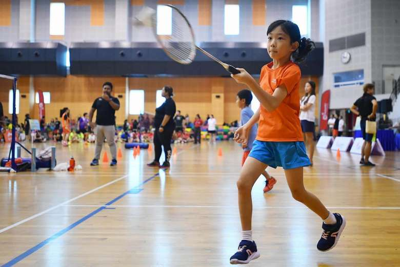 private badminton classes Singapore
